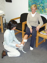 Custom Orthotic Fitting
