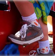 Pediatric Othotics, child back braces, foot braces